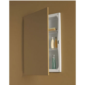 No Mirror Medicine Cabinets With Wood Louvered Or Glass Doors