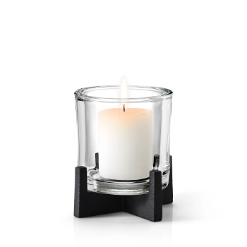 Pillar Candle Holder, Medium w/ Candle (Not Included)