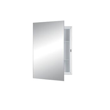 Recess Mount 1 Door Medicine Cabinet