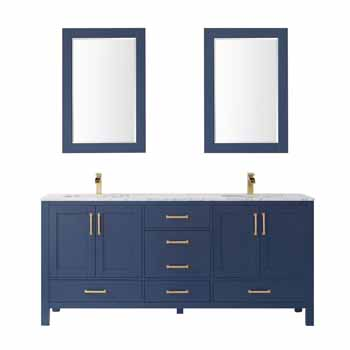 Vinnova Bath Vanity 72'' Royal Blue Display