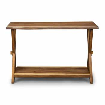 Console Table - Front View