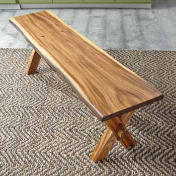 Trestle Bench - Lifestyle View 3