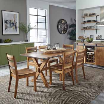 7-Piece Set -Dining Table & 6 Chairs