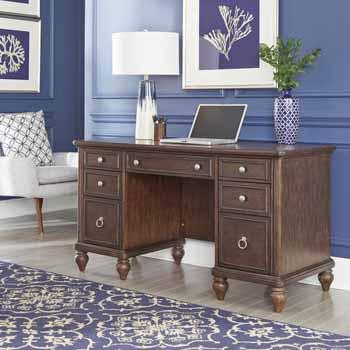 Pedestal Desk - Lifestyle View 1