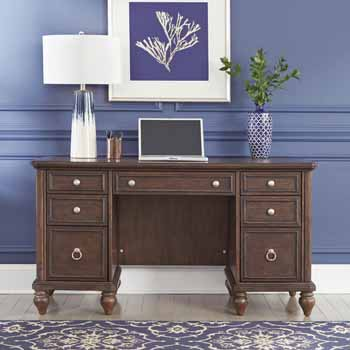 Pedestal Desk - Lifestyle View 2