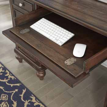 Pedestal Desk - Close Up View 1