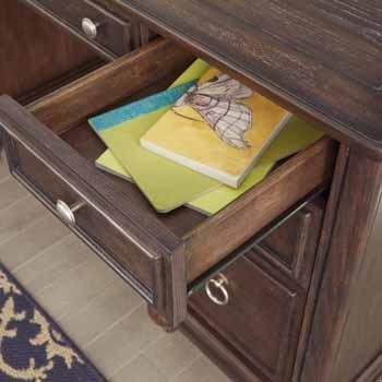 Pedestal Desk - Close Up View 2