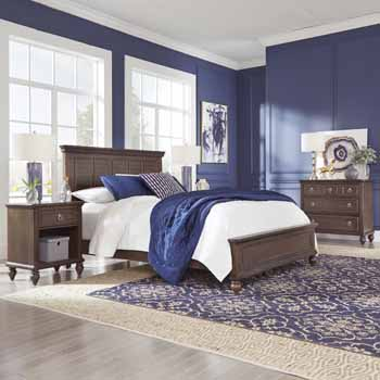 3-Piece Set (1) - Queen Bed, Night Stand, & Chest