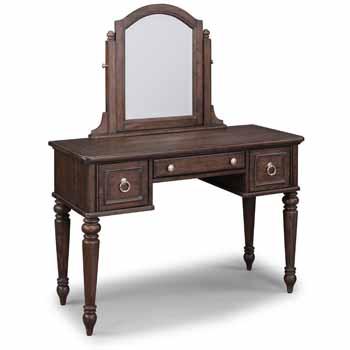 Vanity & Mirror - Angled View