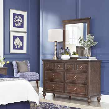 2-Piece Set - Dresser & Mirror - Lifestyle View 1