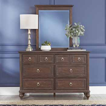 2-Piece Set - Dresser & Mirror - Lifestyle View 2