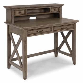 2-Piece Set - Student Desk With Hutch