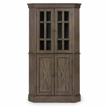 Corner Cabinet - Closed Front View - Closed Front View