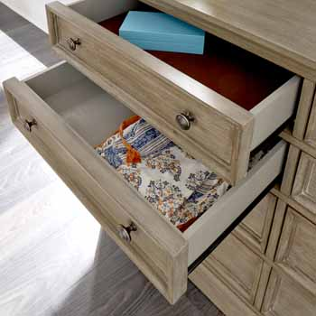 Dresser & Mirror - Close Up View 1