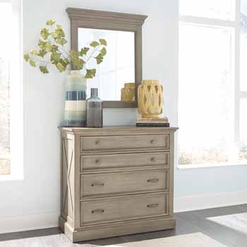 Dresser and Mirror - Lifestyle View