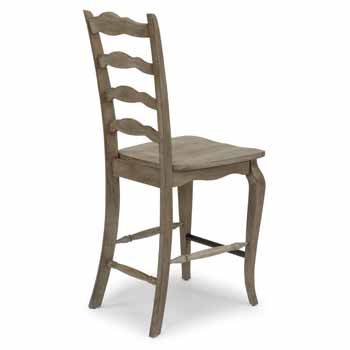 Counter Stool - Back View - Back View