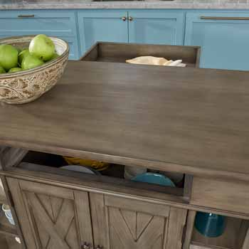 Kitchen Island - Lifestyle View 2 - Lifestyle View 2