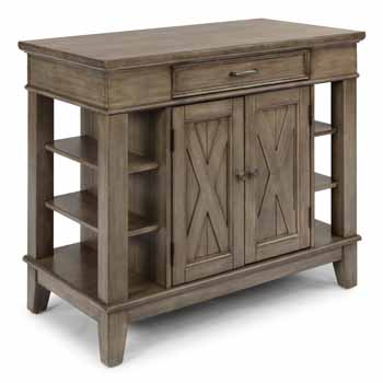 Kitchen Island - Closed Angle View - Closed Angle View