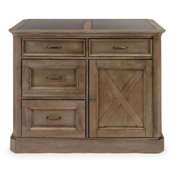 Kitchen Island - Front View - Front View