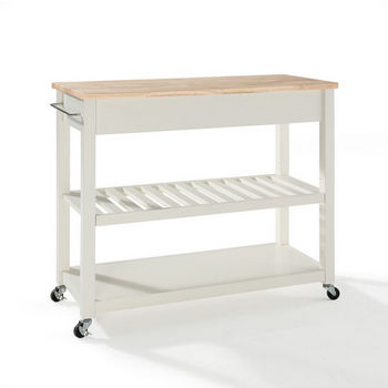 Crosley Furniture Kitchen Cart/Island with Optional Stool ...