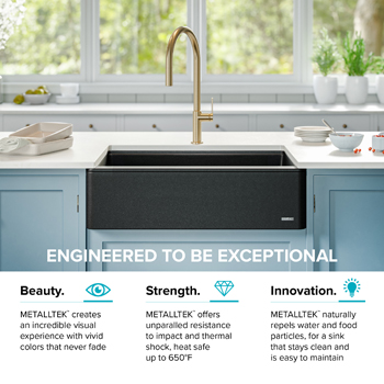 Kraus Kitchen Sink Intelligently Engineered
