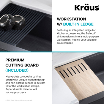 Kraus Kitchen Sink Workstation