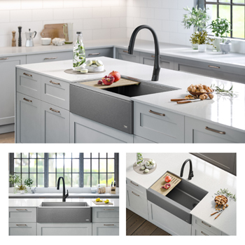 Kraus Kitchen Sink Gallery View Grey