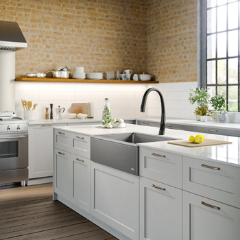 Kraus Kitchen Sink Lifestyle View Grey 2