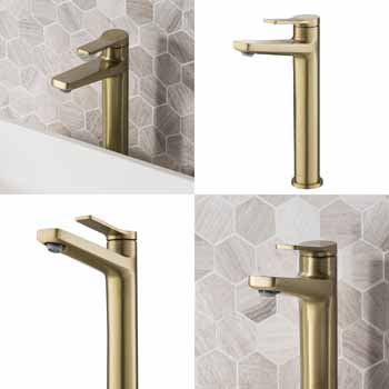 Brushed Gold - Faucet Views