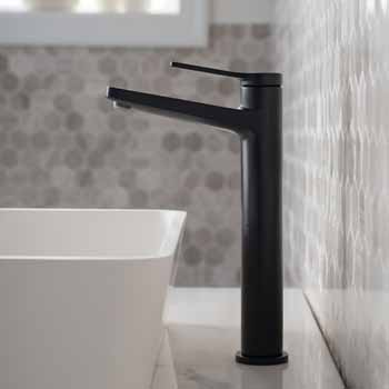 Matte Black - Faucet Close Up 1