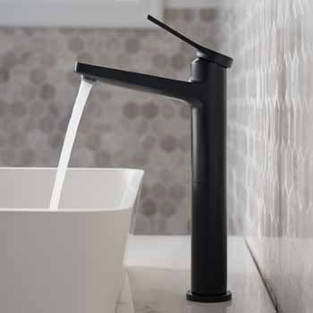 Matte Black - Faucet Close Up 2
