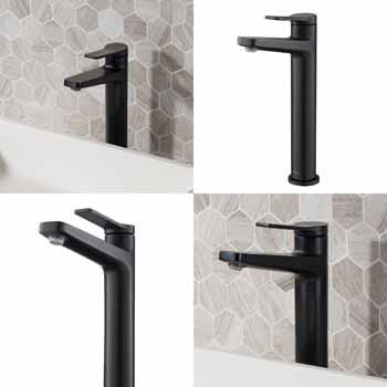Matte Black - Faucet Views