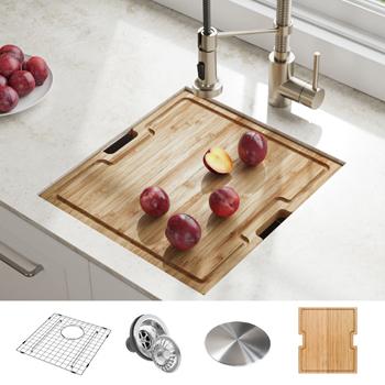 Kraus Kitchen Sink Lifestyle View 2