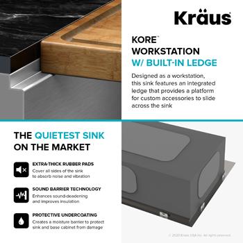 Kraus Kitchen Sink Workstation