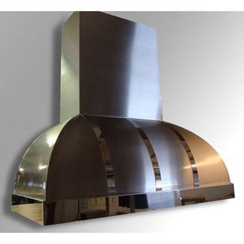 Amore Design Factory Arcata Ceiling Mounted Island Range Hood