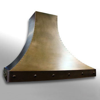 Amore Design Factory Flare Ceiling Mounted Island Range Hood