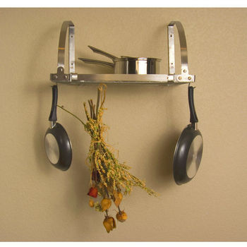 Delectable 25+ Wall Hanging Pot Rack Decorating Design Of Rail ...