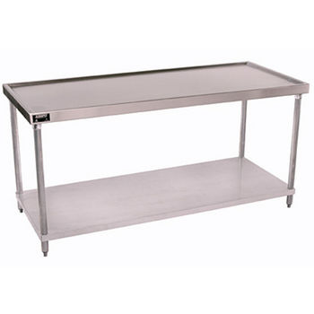 Aero 1TG Series Work Table w/ Galvanized Undershelf