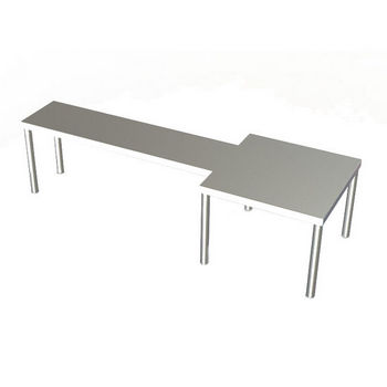 Aero MW Series Table-Mounted Microwave Shelves
