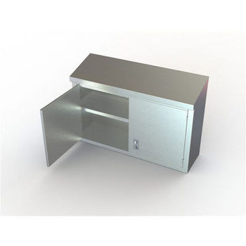 Aero Manufacturing Stainless Wall Cabinets