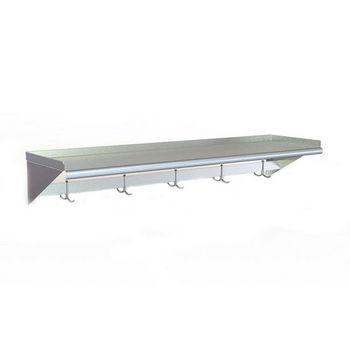 Aero WSP Series Wall-Mounted Shelves w/ Pot Rack