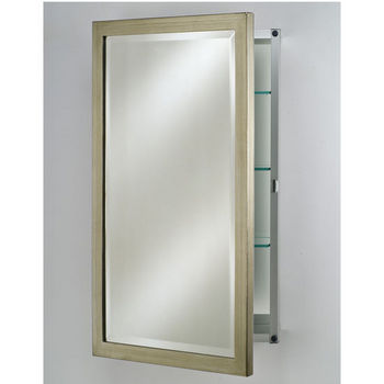 Afina Basix Medicine Cabinets - Wood Framed Door