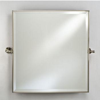 Afina Square Bevel Wall Vanity Mirror