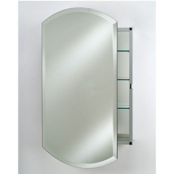 Afina Frameless Double Arch Medicine Cabinets