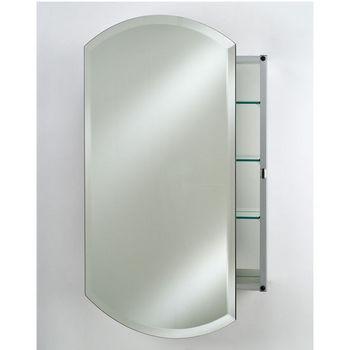 Afina Frameless Double Arch Medicine Cabinets