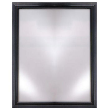 Afina Signature Collection Rectangular Plain Framed Mirror Available with Multiple Group A to F Finishes and Sizes