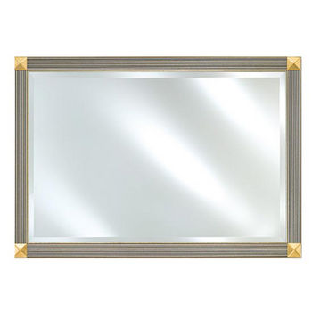 Afina Signature Collection Rectangular Beveled Mirror Available with Multiple Group A to F Finishes and Sizes
