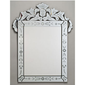 Afina Rectangular Venetian Wall Mirror