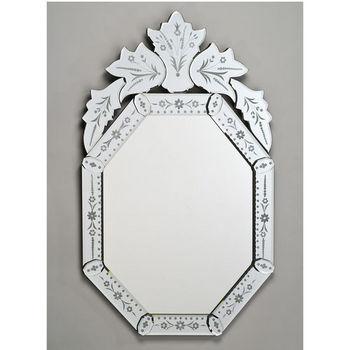 Afina Octagonal Venetian Wall Mirror