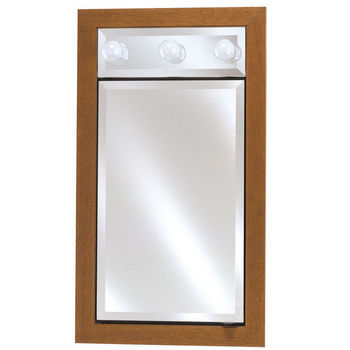 Single Door 17 x 40 Signature Collection Medicine Cabinets with Lights by Afina